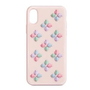 Kate Spade New York Pink iPhone XS or X Case NEW